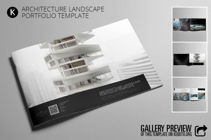 Architecture Portfolio Template Indesign Best Of Architecture Landscape Portfolio