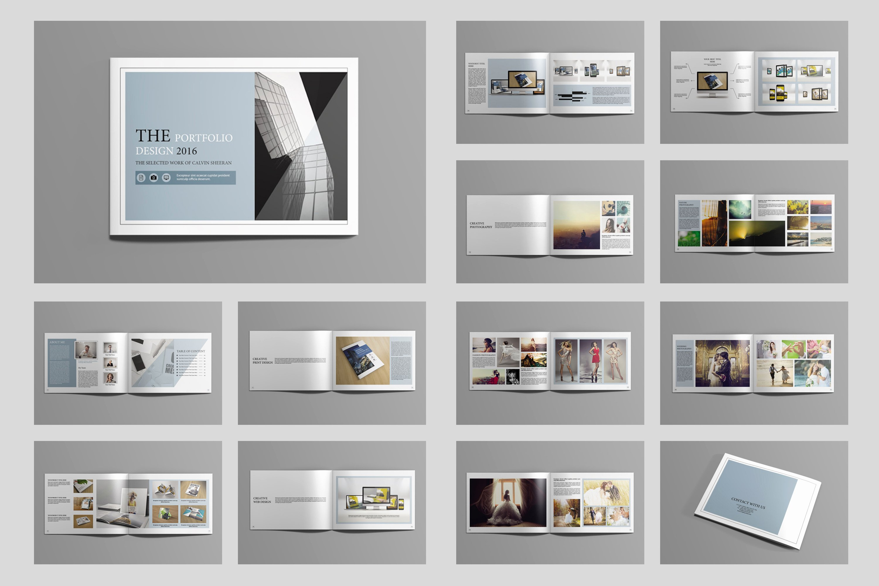 Architecture Portfolio Template Indesign Fresh Indesign Portfolio Brochure V419 Brochure Templates On