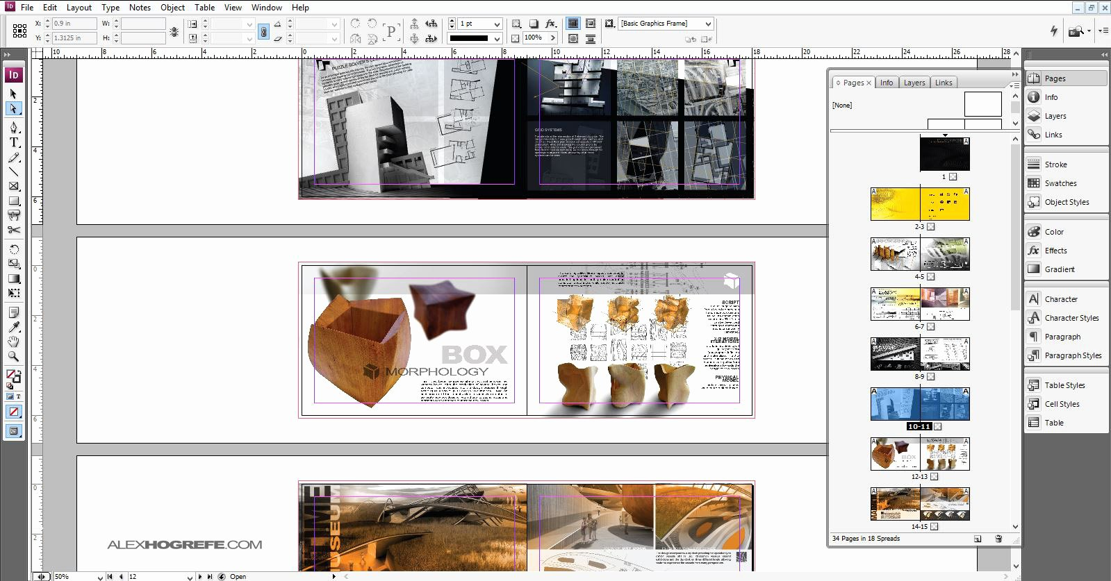 Architecture Portfolio Template Indesign Fresh Indesign why Use It