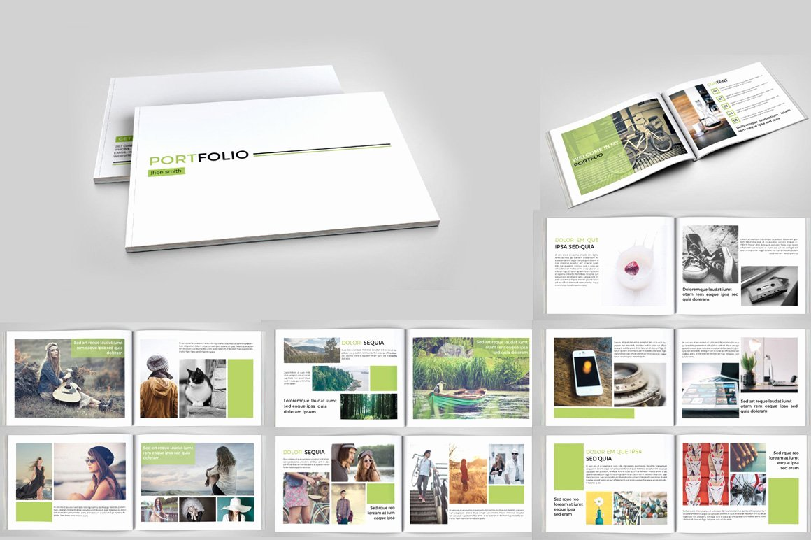 Architecture Portfolio Template Indesign Unique Indesign Portfolio Brochure V127 Brochure Templates