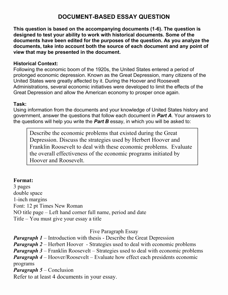 Argumentative Essay On Depression Unique History Essay Great Depression