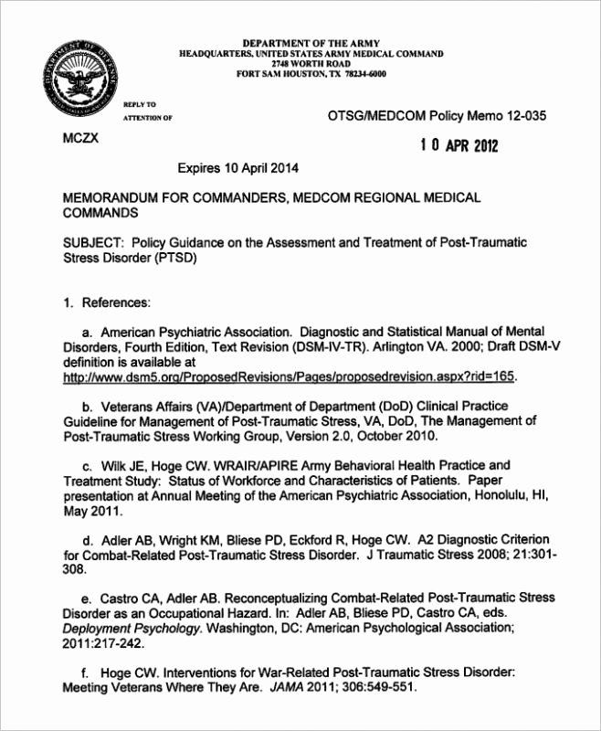 Army Memorandum for Record Template Inspirational Army Memorandum for Record Template