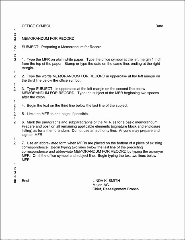 Army Memorandum for Record Template Unique Army Memorandum for Record Template Invitation Template