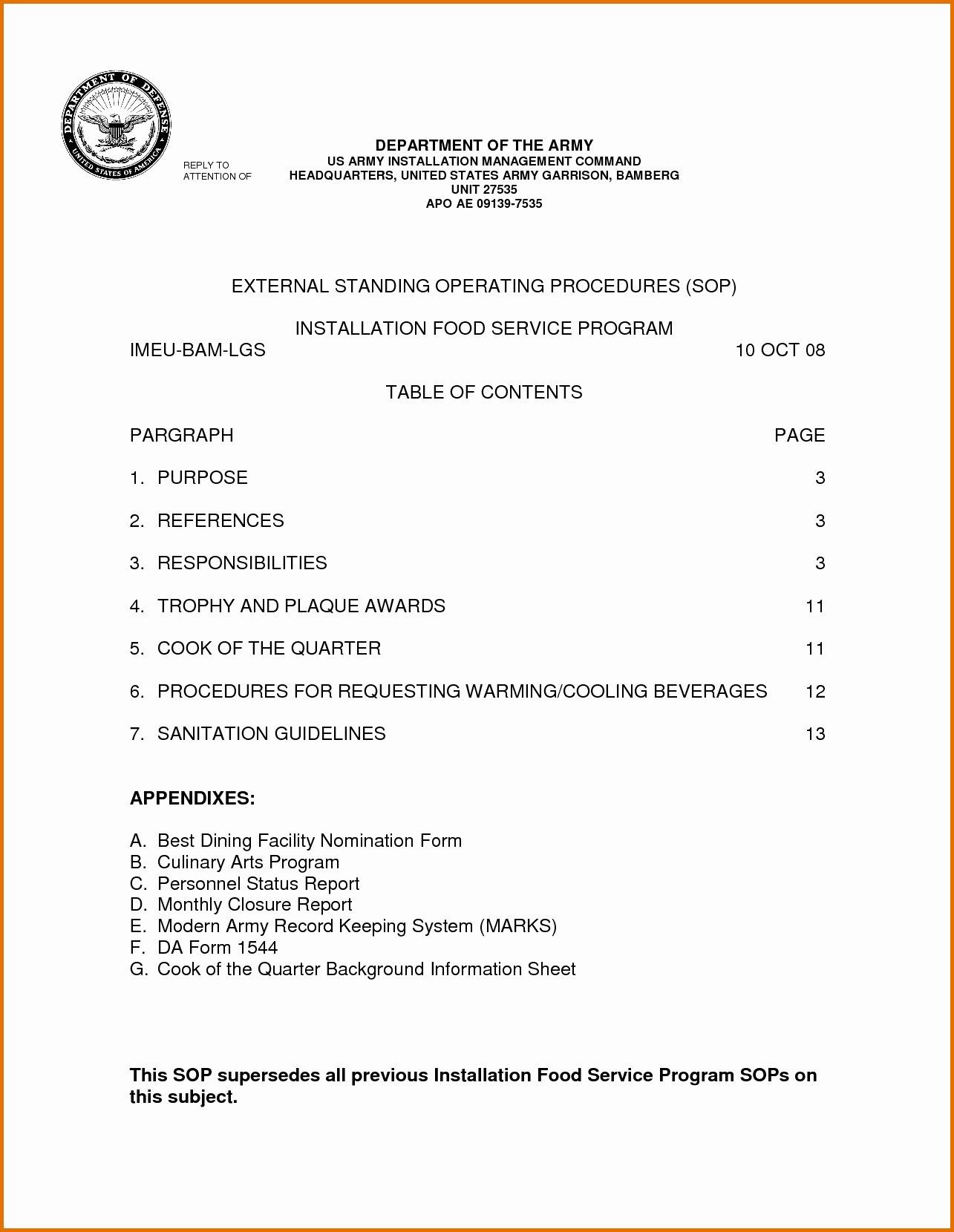 Army Training Schedule form Lovely Army Safety sop Template Templates Resume Examples