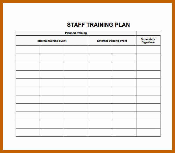 Army Training Schedule Template Awesome 12 13 Training Plan Template