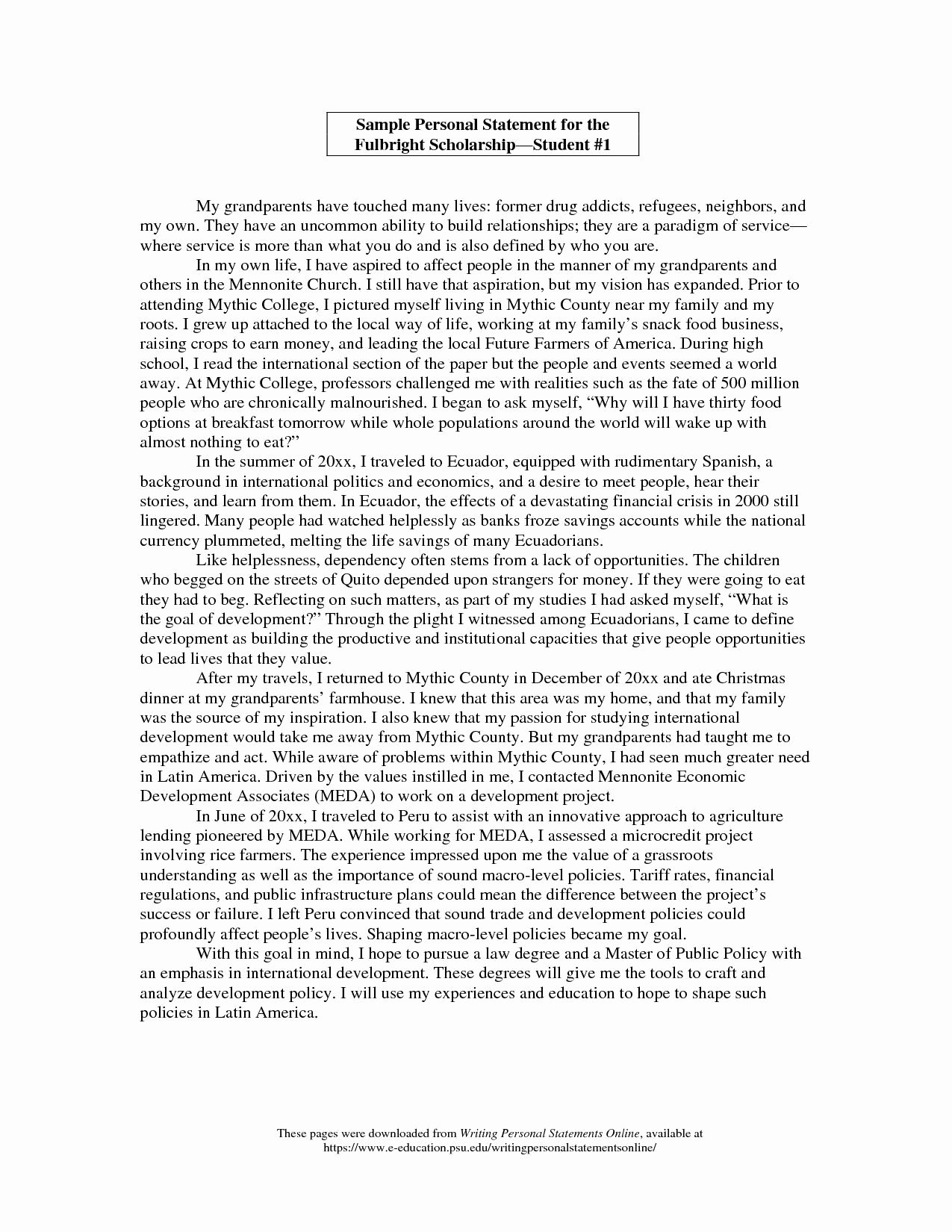 Art Institute Essay Example Awesome Personal Statement Scholarship Letter the John Marshall