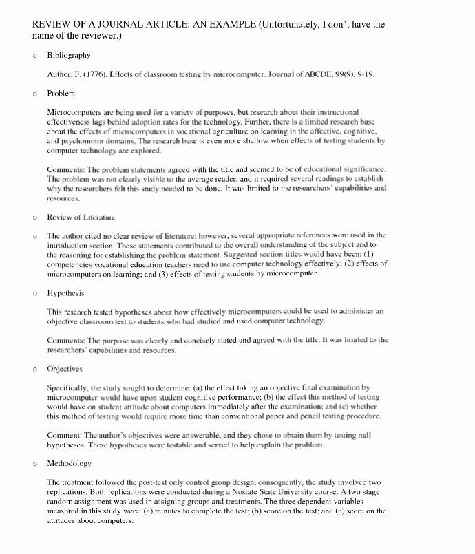 Art Institute Essay Example Inspirational 12 13 Sample Peer Review Ments
