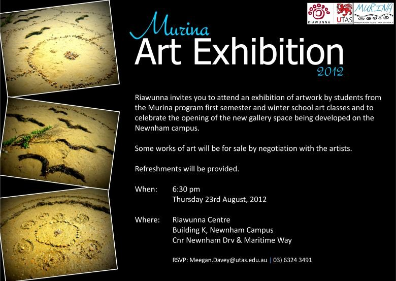Art Show Invitation Template Unique Murina Art Exhibition 2012 events