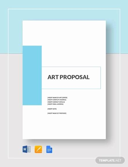 Artist Proposal Example Luxury 10 Art Proposal Templates Pdf Word Pages