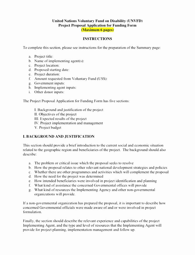 Artist Proposal Template Inspirational 10 Project Rationale Template Voope