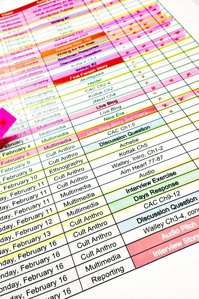 Assignment Sheet Template Elegant Best 25 assignment Sheet Ideas On Pinterest