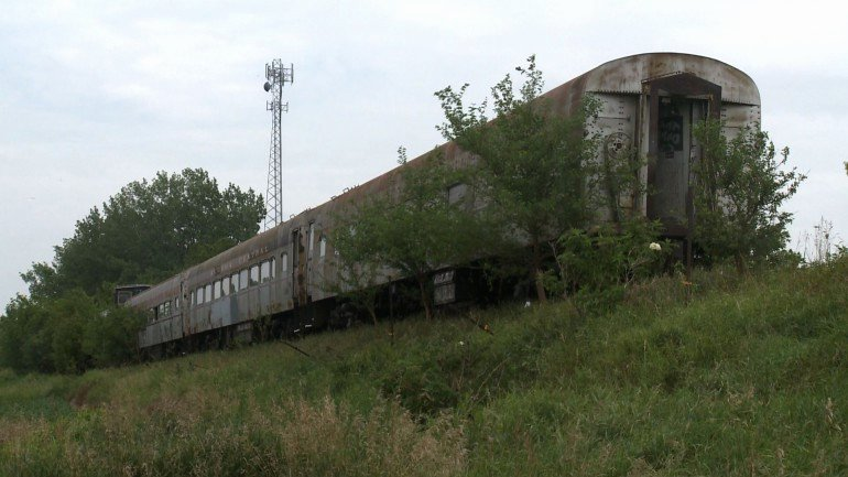 Attention Getter for Homelessness Luxury Gallery Abandoned Train In northwest Iowa
