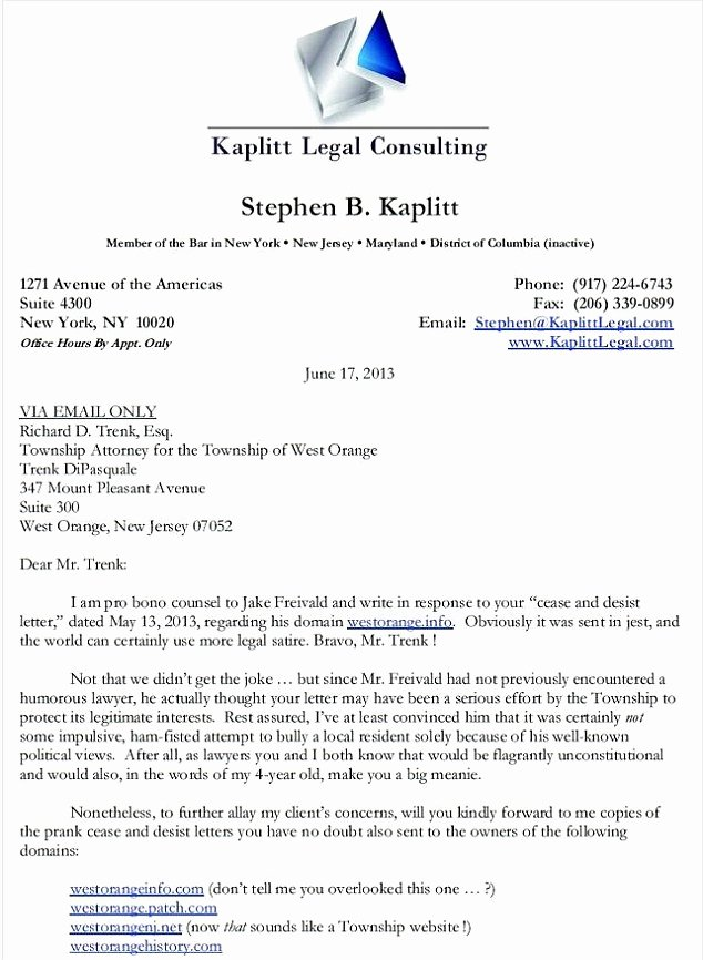 Attorney Client Letter Template Awesome You Big Meanie Lawyer S Hilariously Snarky Cease and