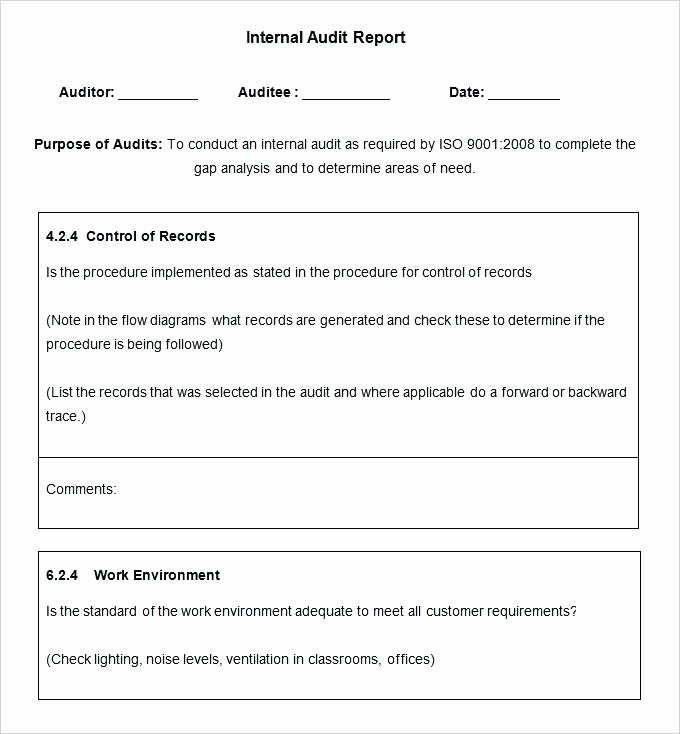 Audit Documentation Example Beautiful Audit Documentation Template – Finddatafo
