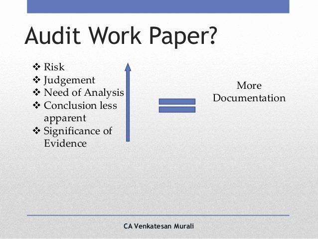 Audit Documentation Example Best Of Audit Documentation