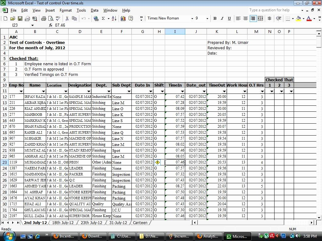 Audit Template Excel Beautiful Download Free Internal Audit Working Papers Payroll Audit
