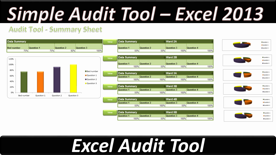 Audit Template Excel Best Of Simple Audit tool – Excel 2013 Line Pc Learning