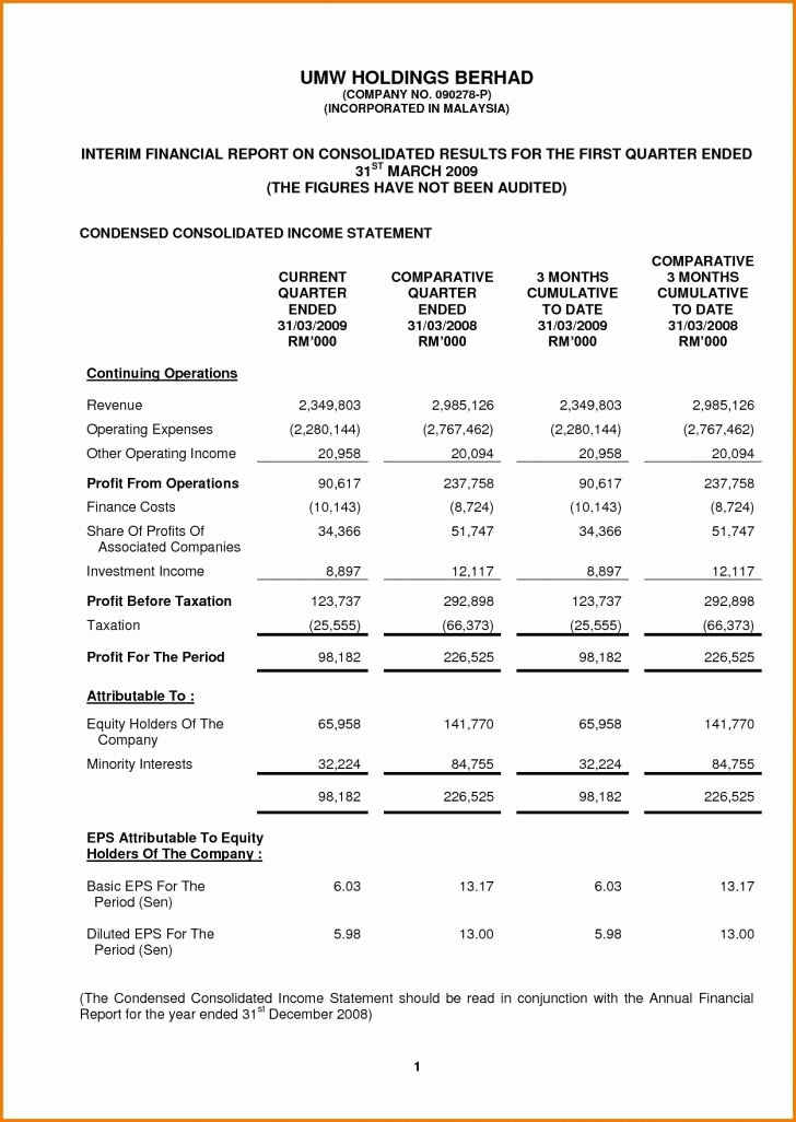 Audited Financial Statements Sample New Audited Financial Statements Sample Resume Samples for