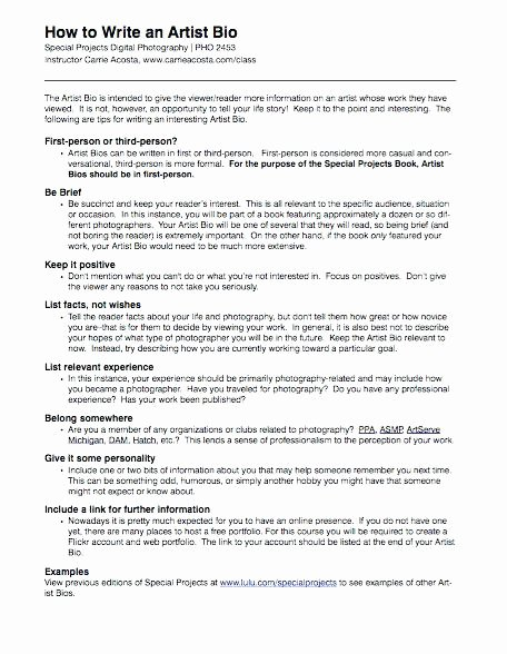 Autobiography for Graduate School Best Of It Biography Examples – Template source On Epigrams