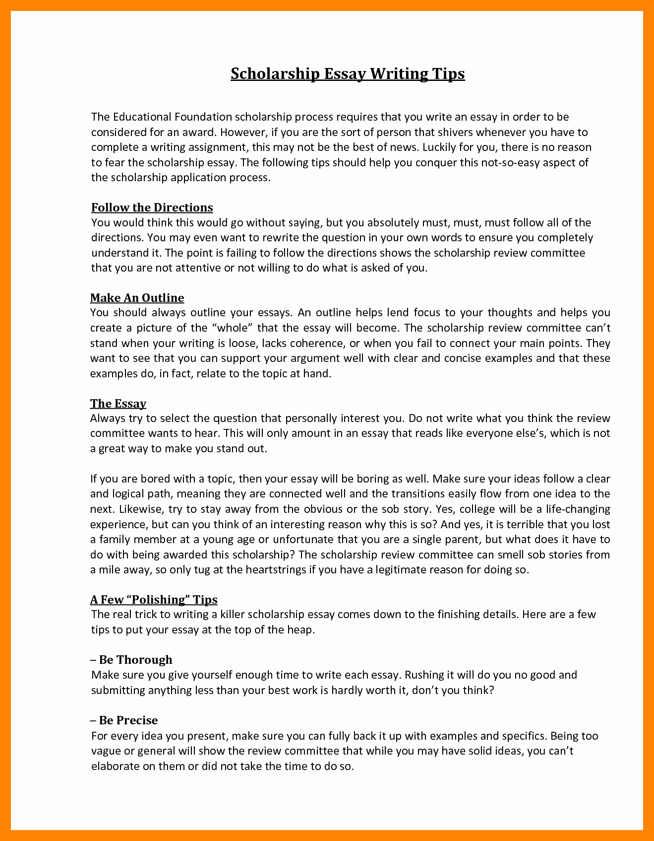 Autobiography for Scholarship Examples Elegant 5 why Should You Receive This Scholarship Essay Examples