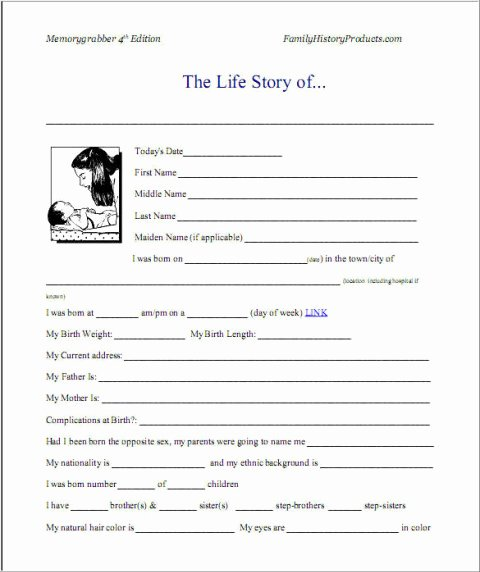 Autobiography Template for Elementary Students Inspirational Sample Autobiography and Example Of Autobiography