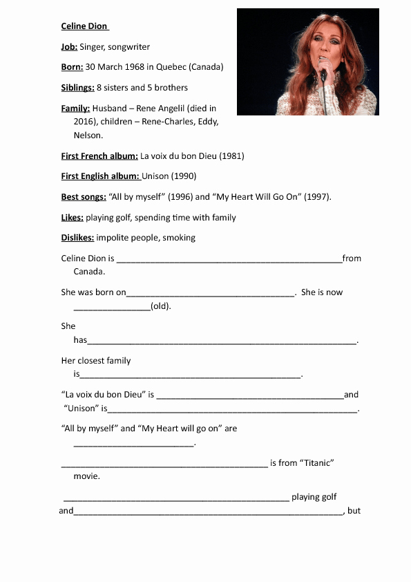 Autobiography Template for Elementary Students New 730 Free Writing Worksheets