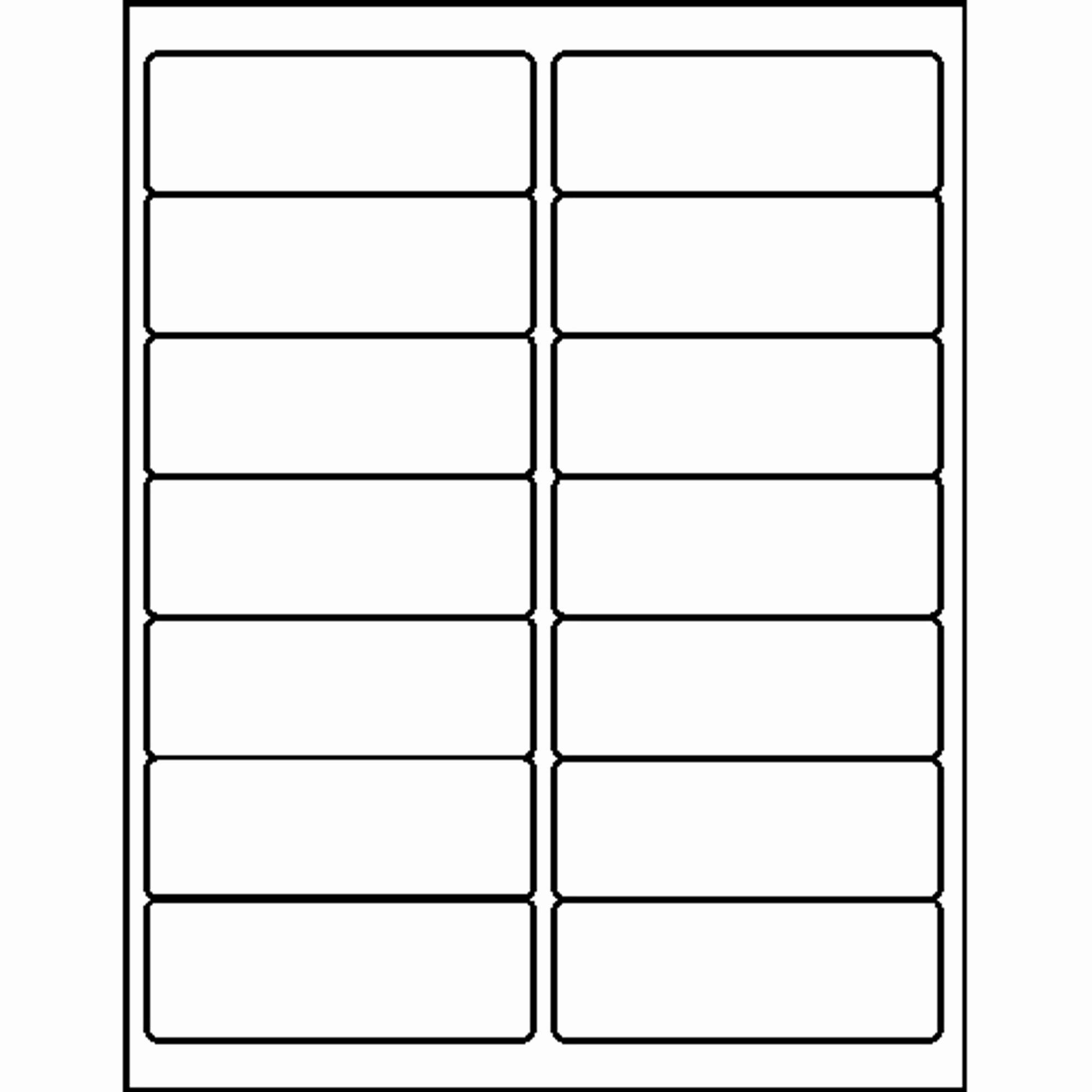 Avery 8162 Template for Mac Inspirational 14 Labels Per Sheet Template Word – Brucejudisch