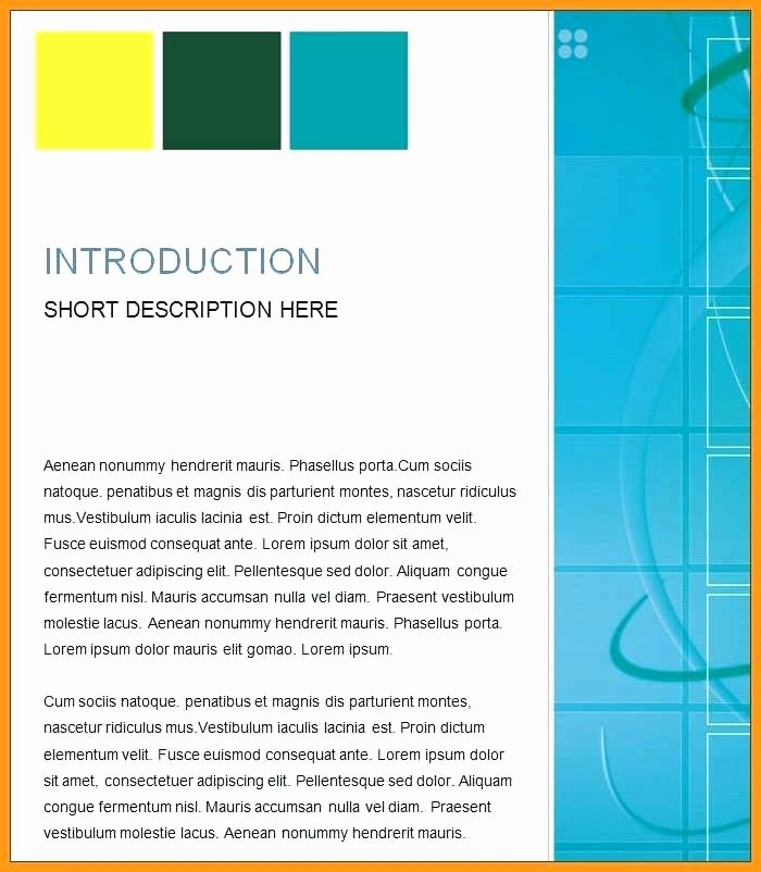 Avery 8162 Template for Mac Lovely Ms Word Project Report Templates Template for Reports