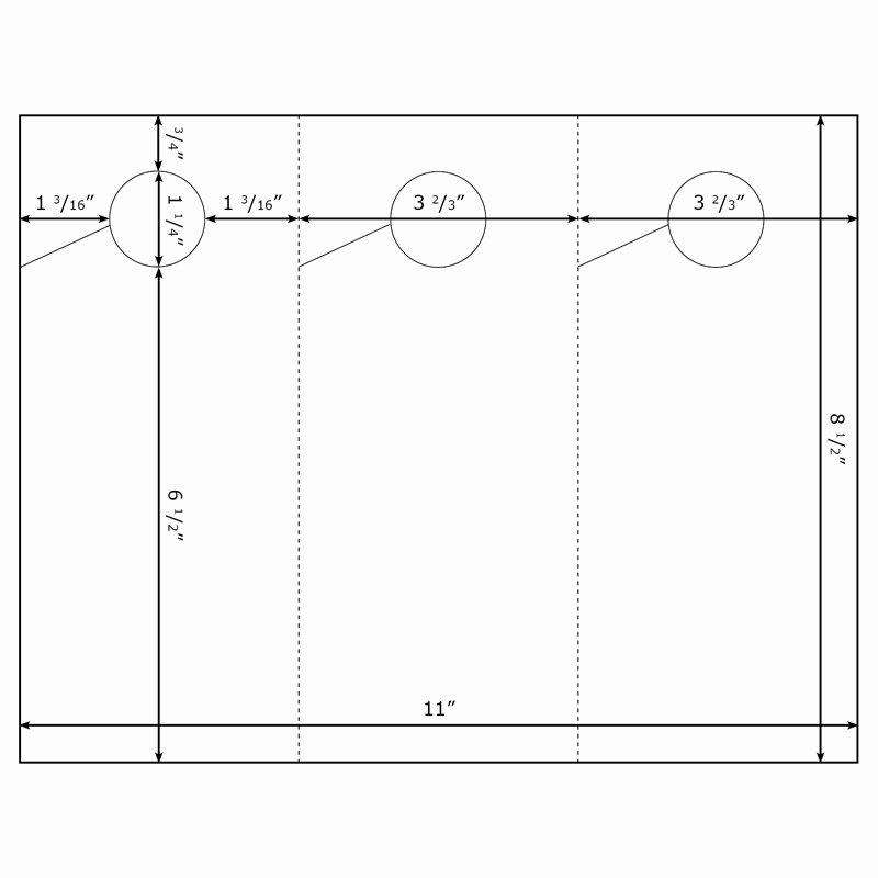 Avery Door Hanger Template Lovely Burris 3 Per Page Door Hanger Template for Microsoft Word