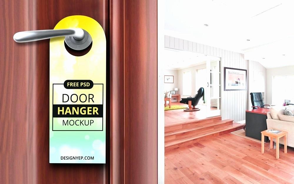 Avery Door Hanger Template Lovely Door Hanger – Tfastl