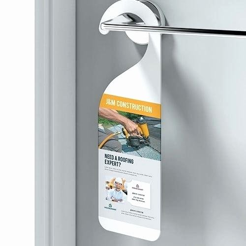 Avery Door Hangers Template New Door Hanger Products Gallery Avery Door