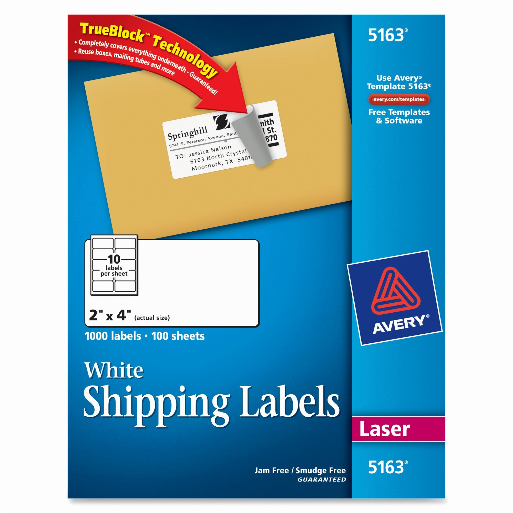 Avery Label Templates for Mac New Avery 2x4 Label Template – Avery Mailing Labels Template