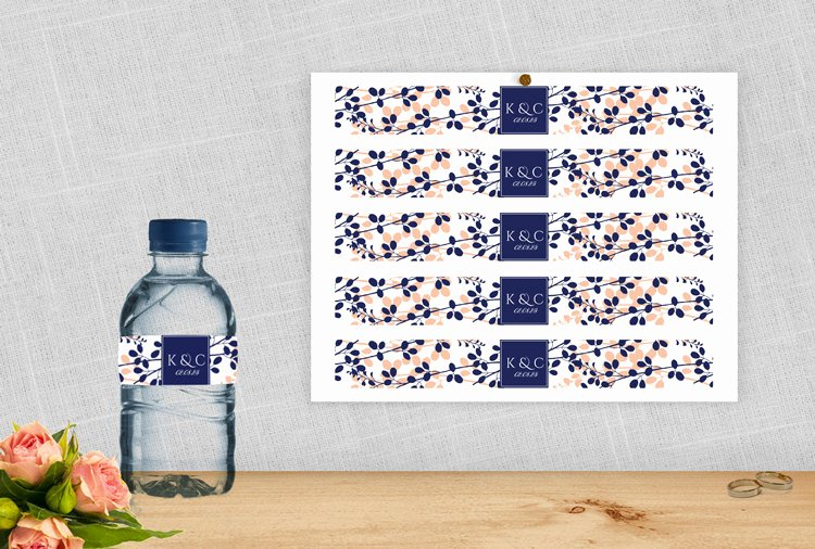 Avery Labels for Water Bottles Elegant Diy Water Bottle Label Template for Avery by