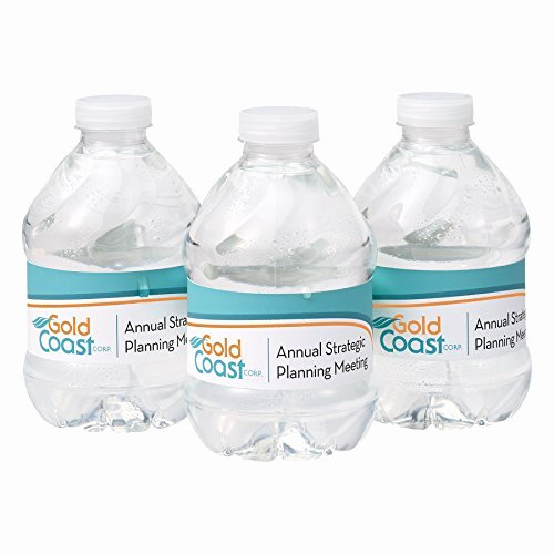 Avery Labels for Water Bottles Luxury Avery Durable Waterproof Wraparound Water Bottle Labels 1