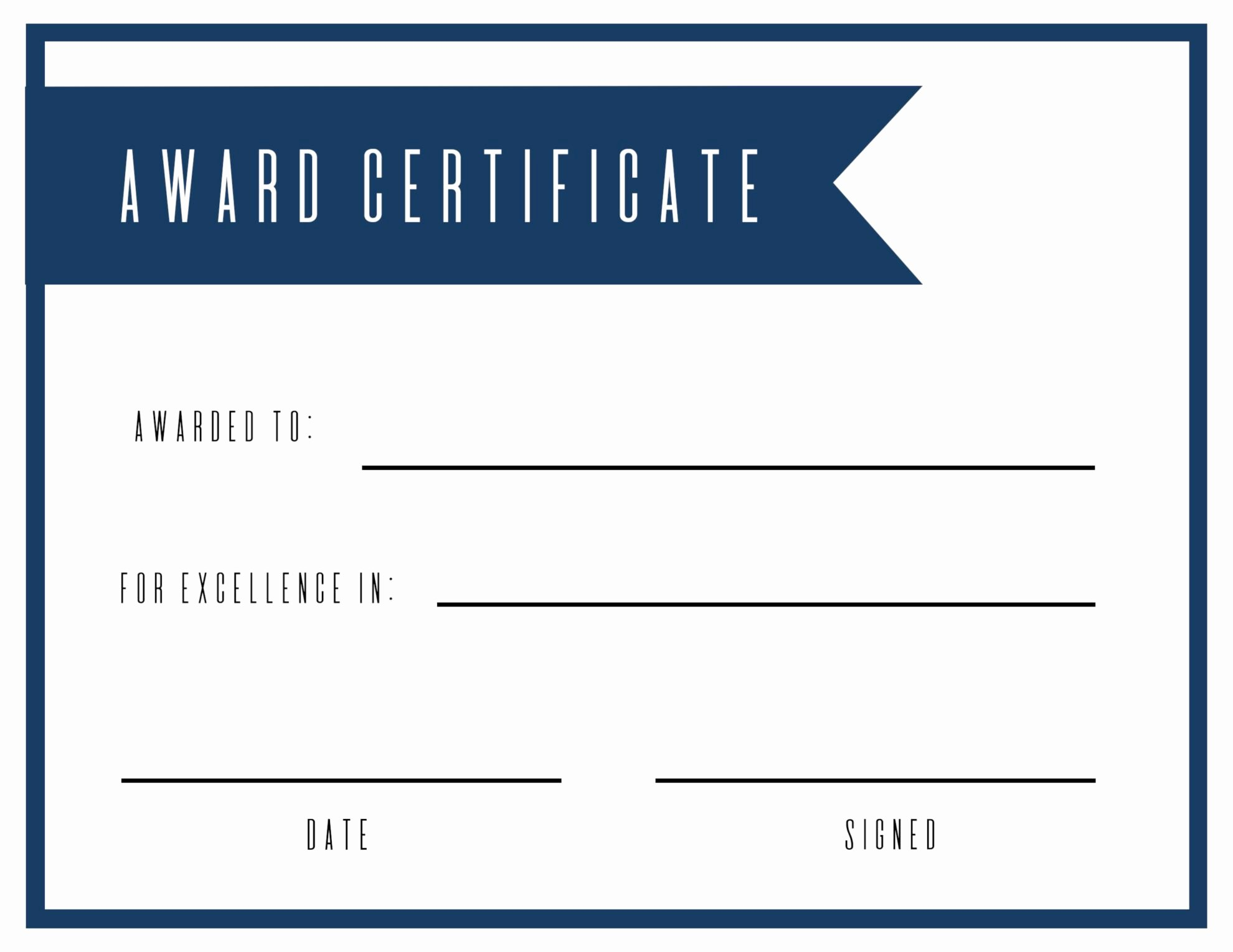 Award Check Template Best Of Free Printable Award Certificate Template Paper Trail Design