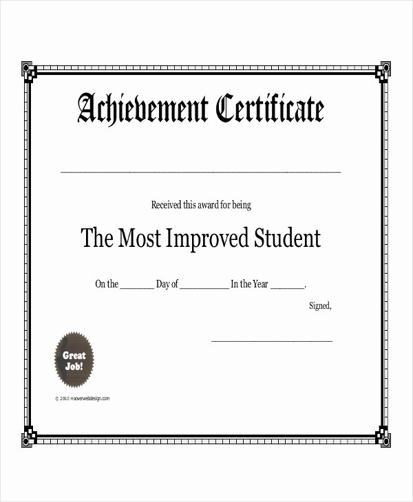 Award Check Template Elegant Student Award Templates 9 Free Word Excel Pdf