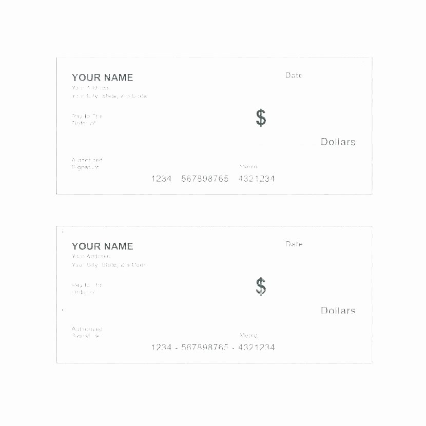 Award Check Template Fresh Oversized Check Template