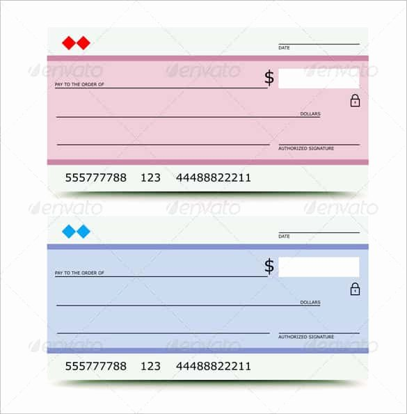 Award Check Template New 24 Blank Check Template Doc Psd Pdf & Vector formats