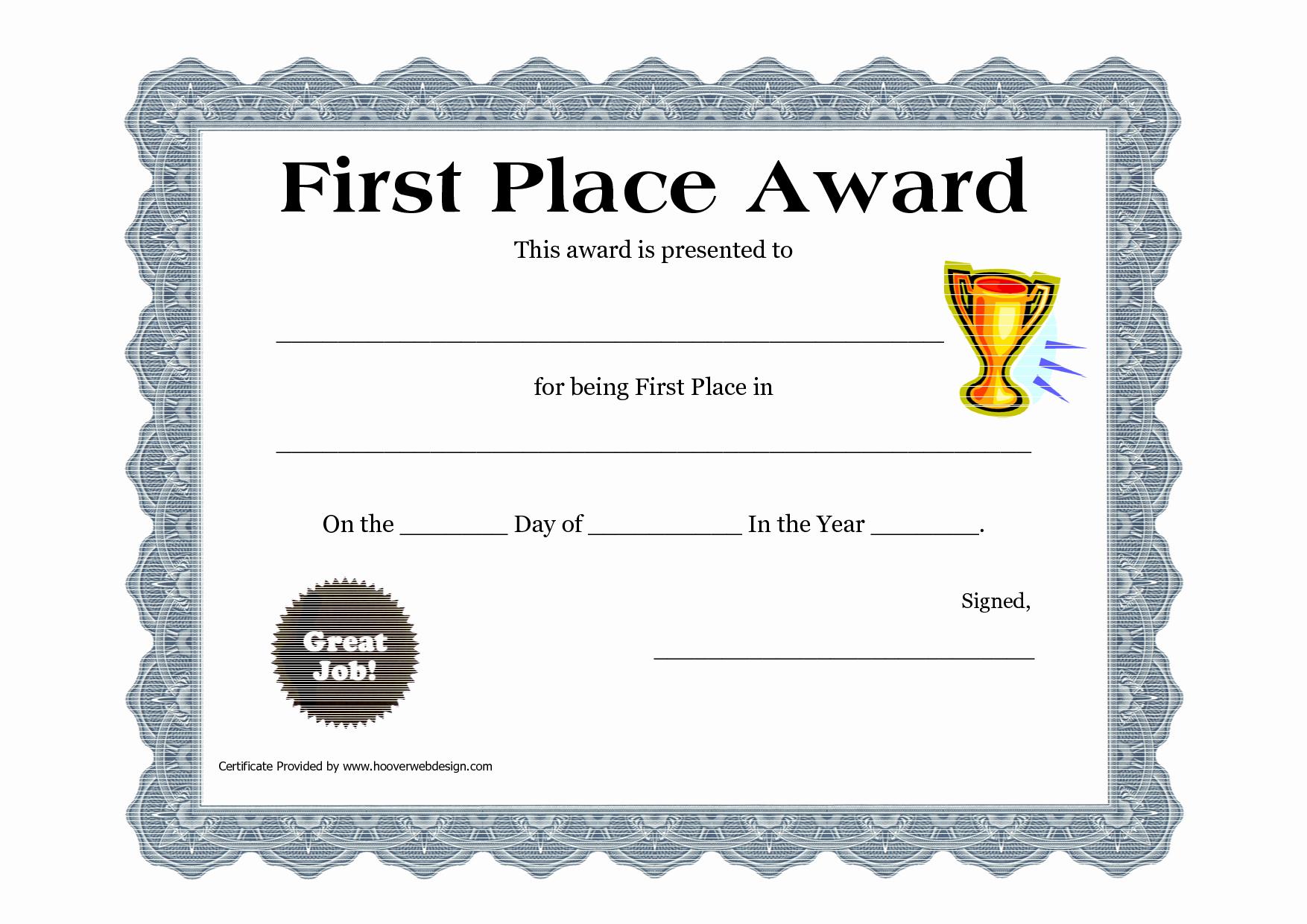 Award Check Template New Customizable Printable Certificates