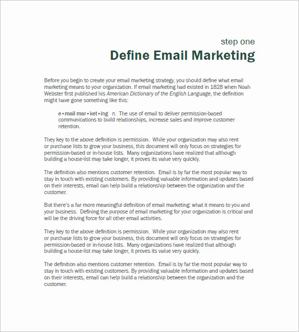 B2b Proposal Template Fresh 11 B2b Marketing Plan Template Free Sample Example