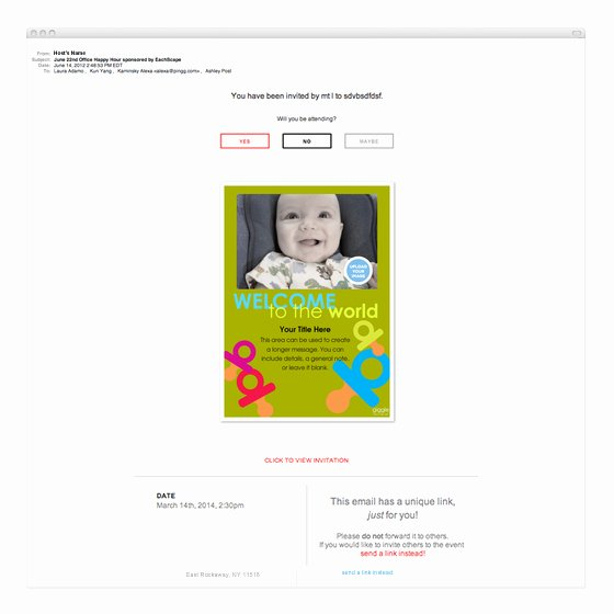 Baby Announcement Email Best Of Wel E to the World Baby Announcement Invitations
