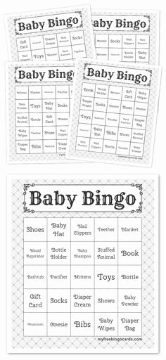 Baby Shower Bingo Generator New Free Custom Bingo Card Generator