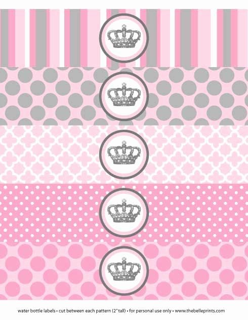 Baby Shower Water Bottle Label Template Free Lovely Birthday Parties Bottle Labels and Baby Showers On Pinterest