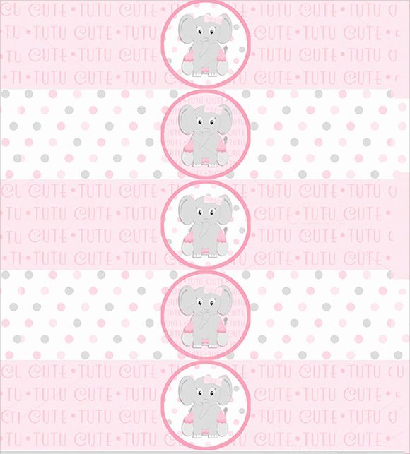 Baby Shower Water Bottle Label Template Free Luxury 8 Water Bottle Label Templates – Free Samples Examples