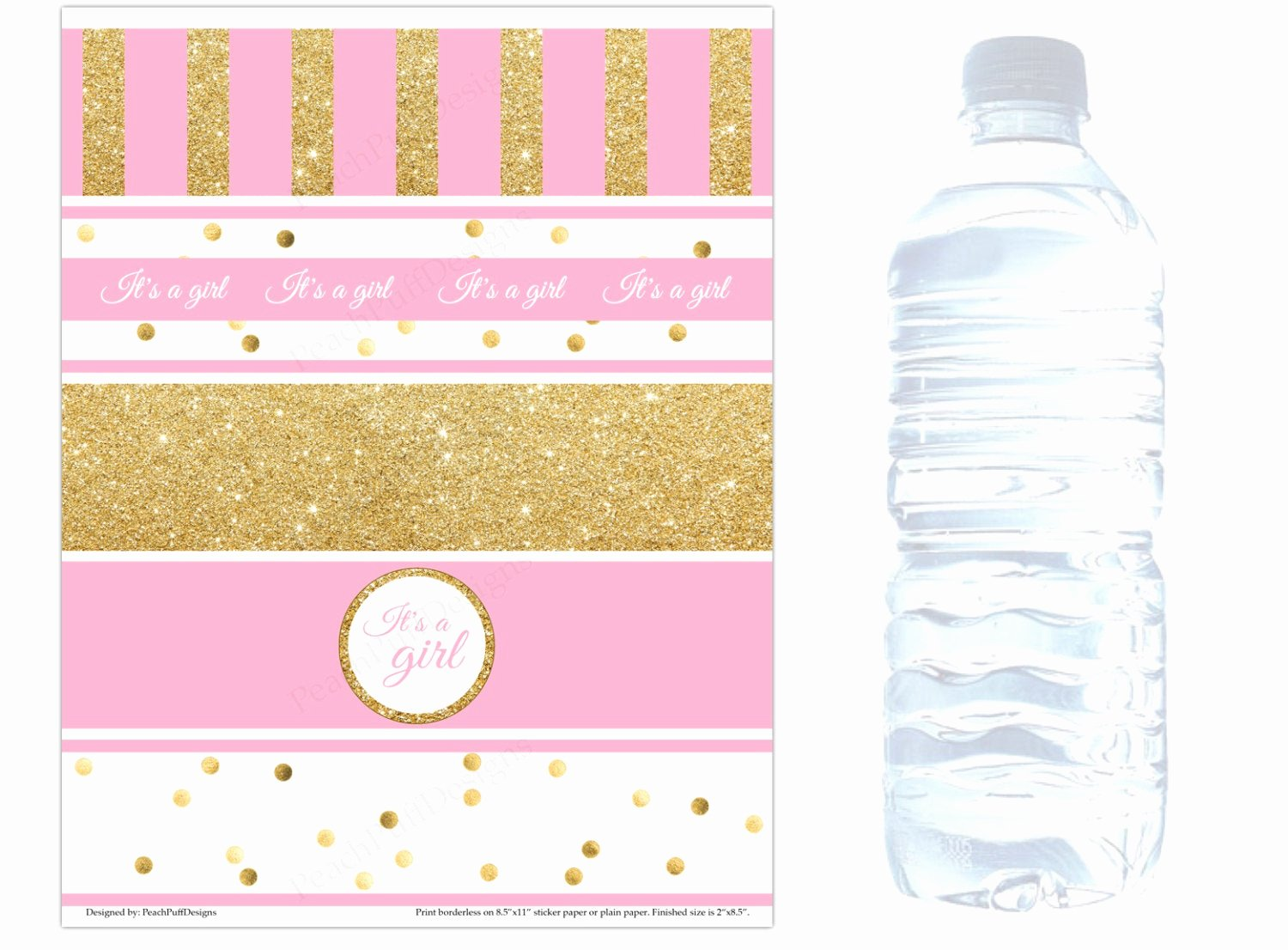 Baby Shower Water Bottle Labels Free Beautiful Baby Shower Water Bottle Labels Instant Download Baby