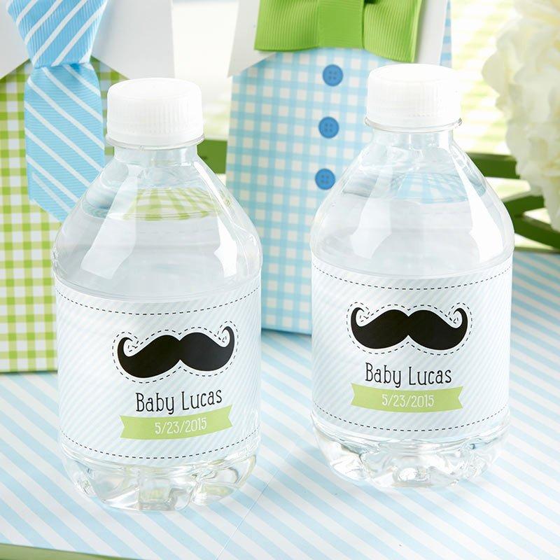 Baby Shower Water Bottle Labels Free Luxury Personalized Water Bottle Labels Little Man Baby Shower
