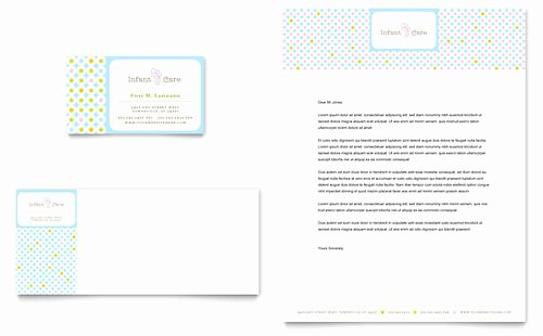 Babysitter Flyer Template Microsoft Word Beautiful Child Care Letterhead Templates Word & Publisher
