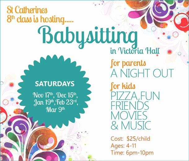 Babysitter Flyer Template Microsoft Word Fresh Best 25 Babysitting Flyers Ideas On Pinterest