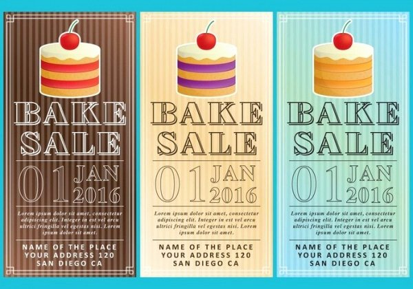Bake Sale Flyer Ideas Awesome 32 Bake Sale Flyer Templates Ai Psd Publisher