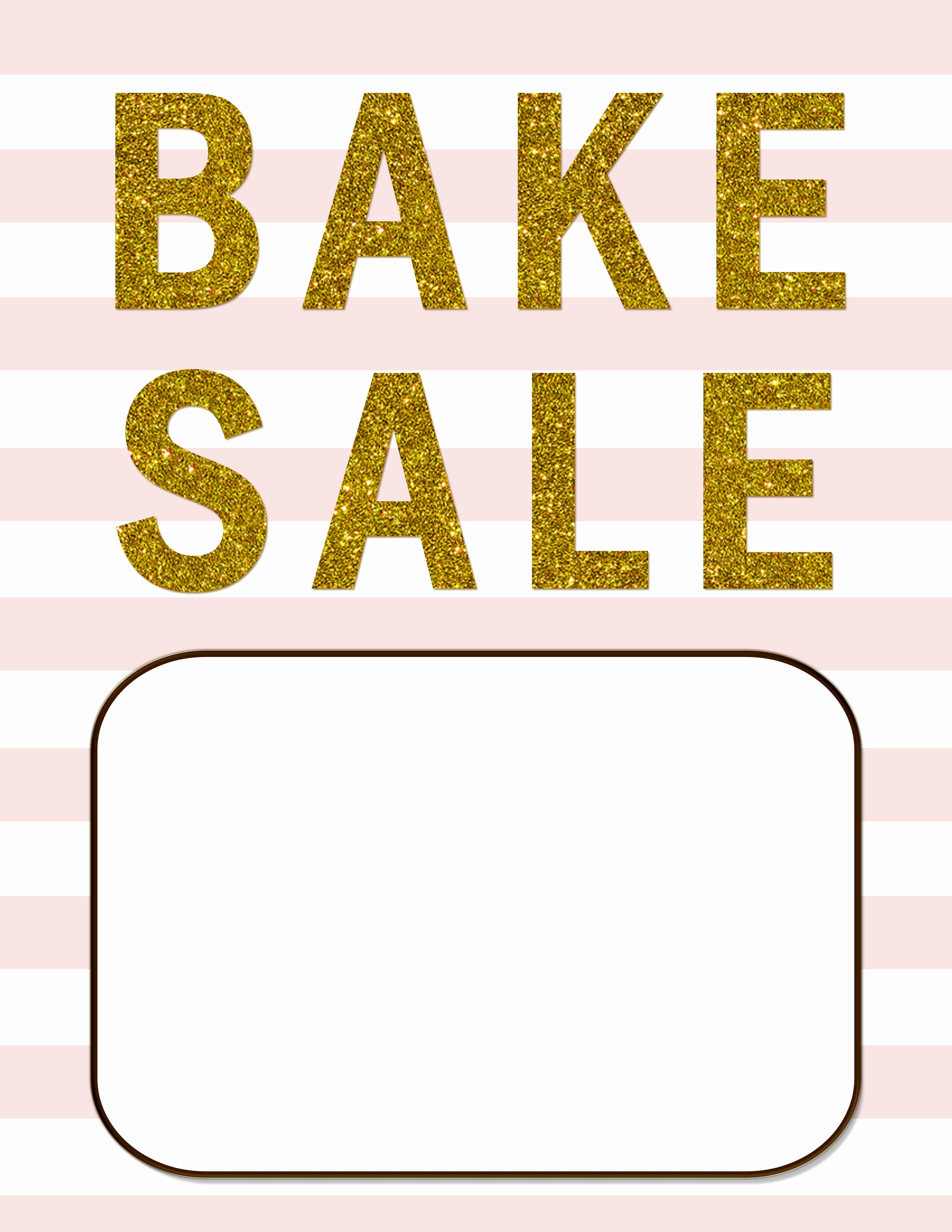 Bake Sale Flyer Ideas Elegant Bake Sale Flyers – Free Flyer Designs